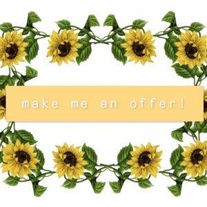 make me an offer! (: